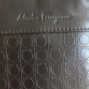 Ferragamo Signature Shoulder Bag New With Tags
